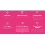 Instagantt Demo - Screenshot Instagantt Features