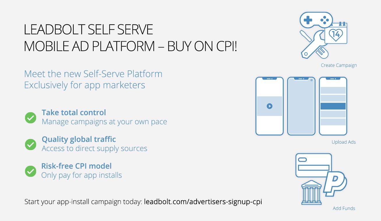 Leadbolt Demo - Self Serve Advertising Platform for App Install Marketers