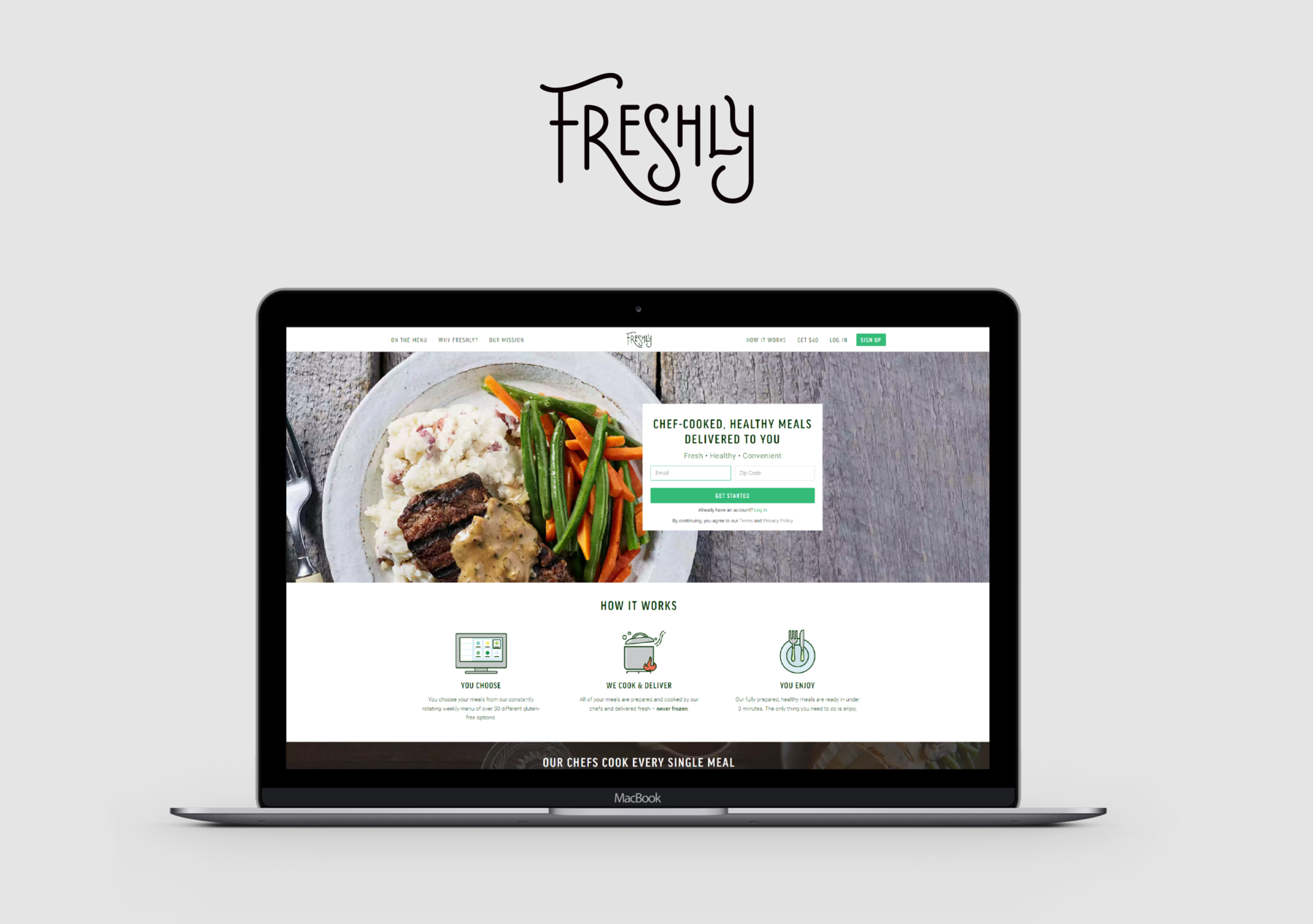 iTechArt Group Demo - Web solution for a food-tech company