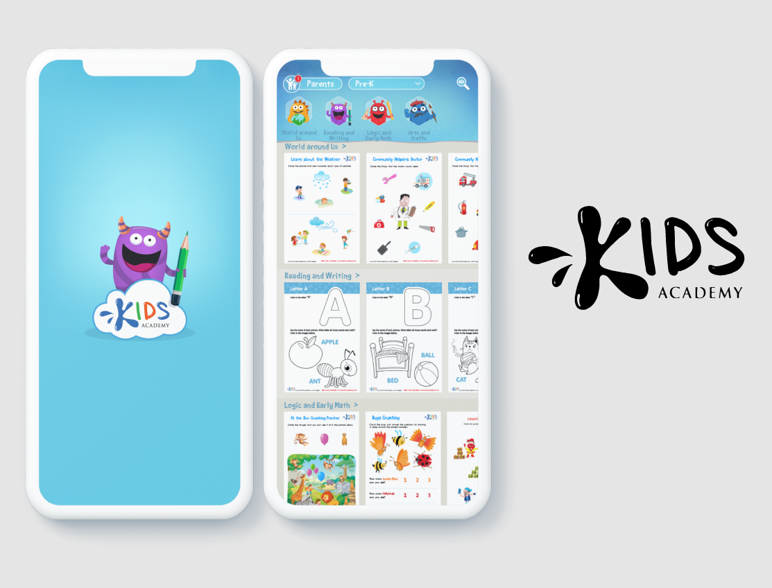 iTechArt Group Demo - Mobile application for a creator of educational children's mobile apps