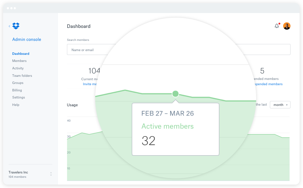 Dropbox Business Demo - Enterprise-ready performance and controls