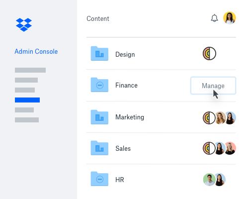 Dropbox Business Demo - Dropbox Groups