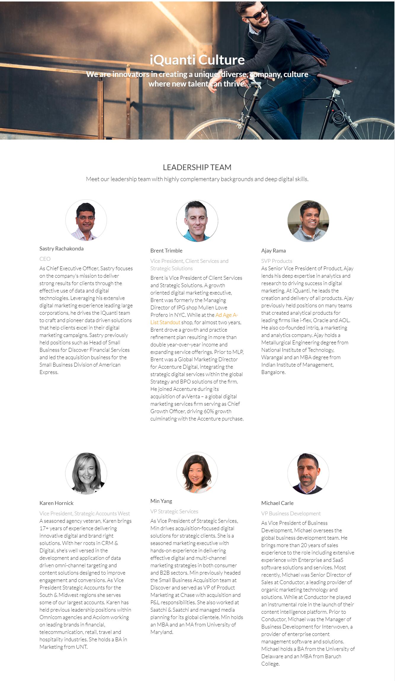 iQuanti, Inc. Demo - Our Leadership Team | iQuanti Digital Marketing Agecny