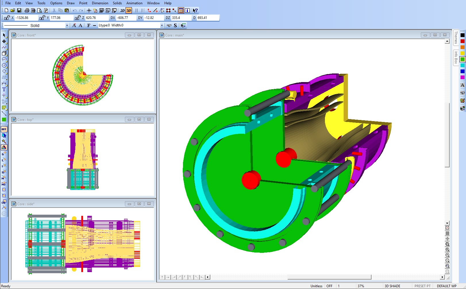 DesignCAD Demo - Mechanical Designing