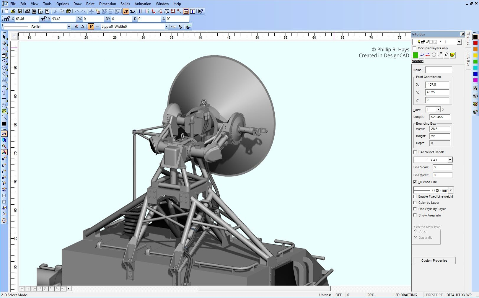 DesignCAD Demo - 3D Rendering