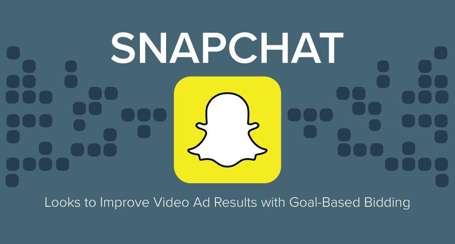 Snapchat goal based bidding