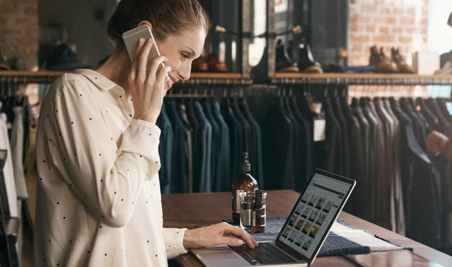 Blog commerce phone