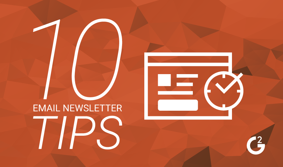 10 tips for creating successful email newsletters