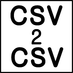 CSV2CSV (CSV to CSV Mint/QB Online/Xero Converter)