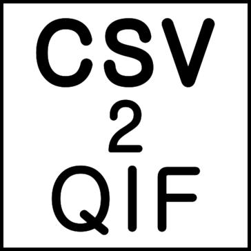 CSV2QIF (CSV to QIF Converter)