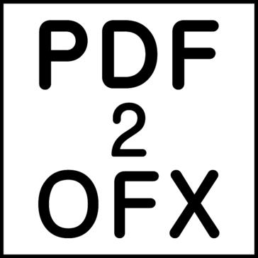PDF2OFX (PDF to OFX Converter)