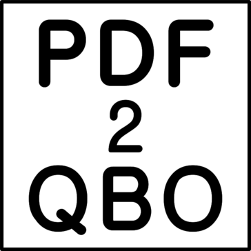 PDF2QBO (PDF to QBO Converter)