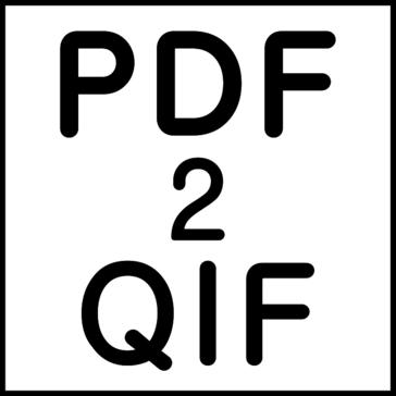 PDF2QIF (PDF to QIF Converter)