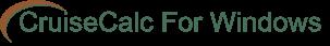 CruiseCalc for Windows