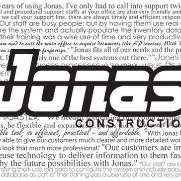 Jonas Enterprise Service & Construction Software