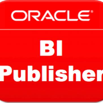 Oracle BI Publisher