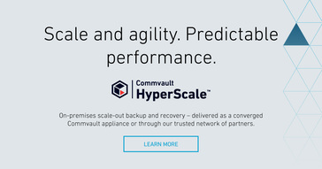 Commvault HyperScale