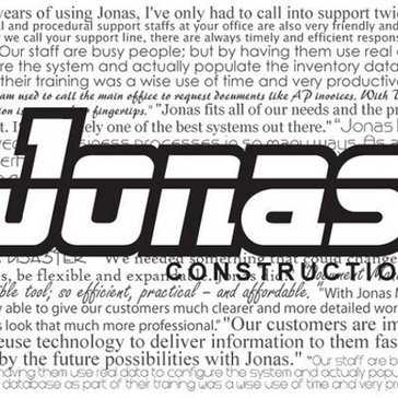 Jonas Enterprise Service & Construction Software