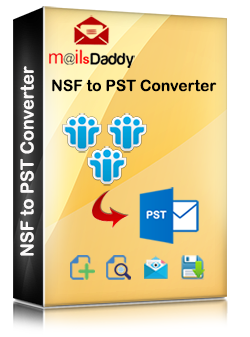 MailsDaddy NSF TO PST Converter Pricing