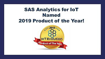 SAS Analytics for IoT