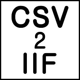 CSV2IIF (CSV to IIF Converter)