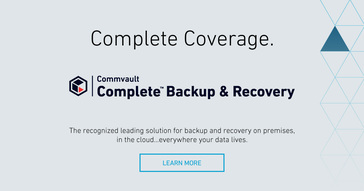 Commvault Complete Backup & Recovery Reviews