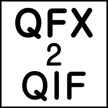 QFX2QIF (QFX to QIF Converter) Pricing