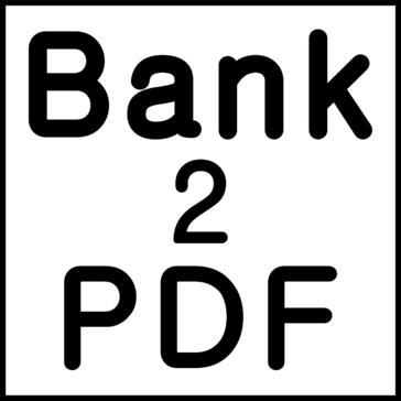 Bank2PDF Pricing