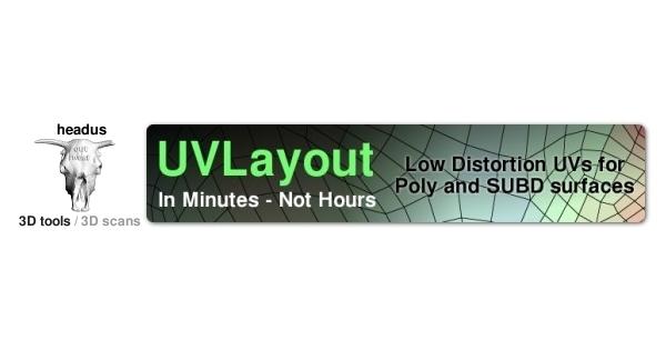 headus uv layout 3ds max plugin