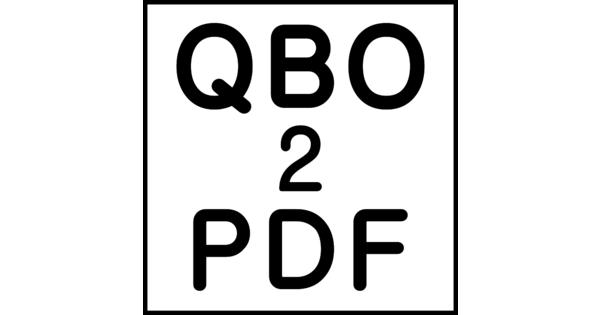 free pdf to qbo converter