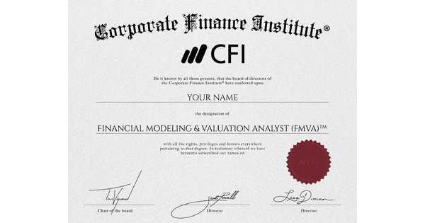 financial modeling & valuation analyst (fmva)™ certification reviews ...