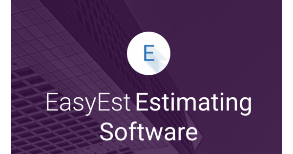 EasyEst Estimating Software Alternatives & Competitors | G2