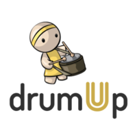 DrumUp logo