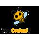 Viral Content Bee Logo