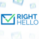 RightHello Logo