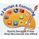 CJ Design & Consulting Logo