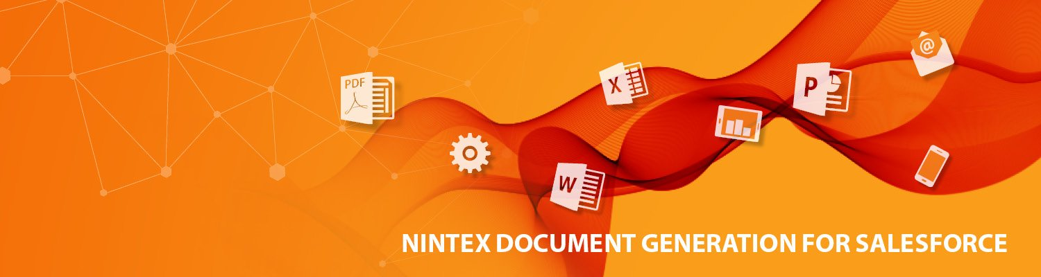 Nintex Document Generation for Salesforce