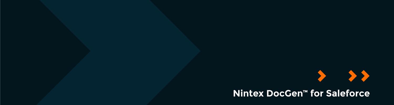 Nintex DocGen™ for Salesforce