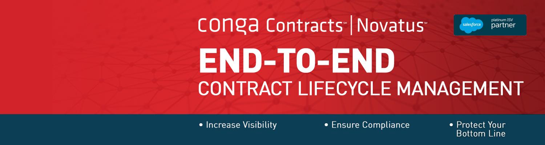 Conga Contracts | Novatus
