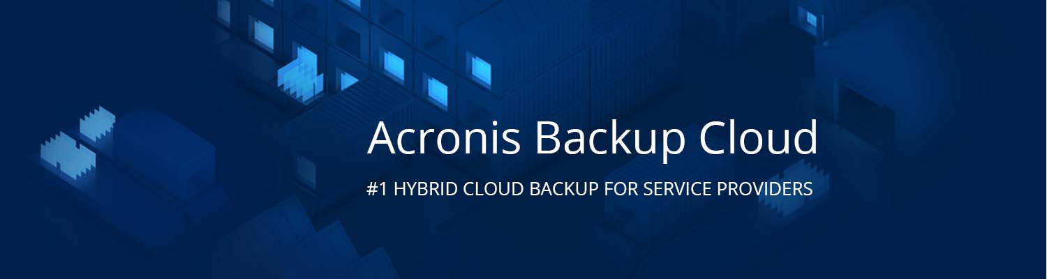 Acronis Backup Cloud for Service Providers