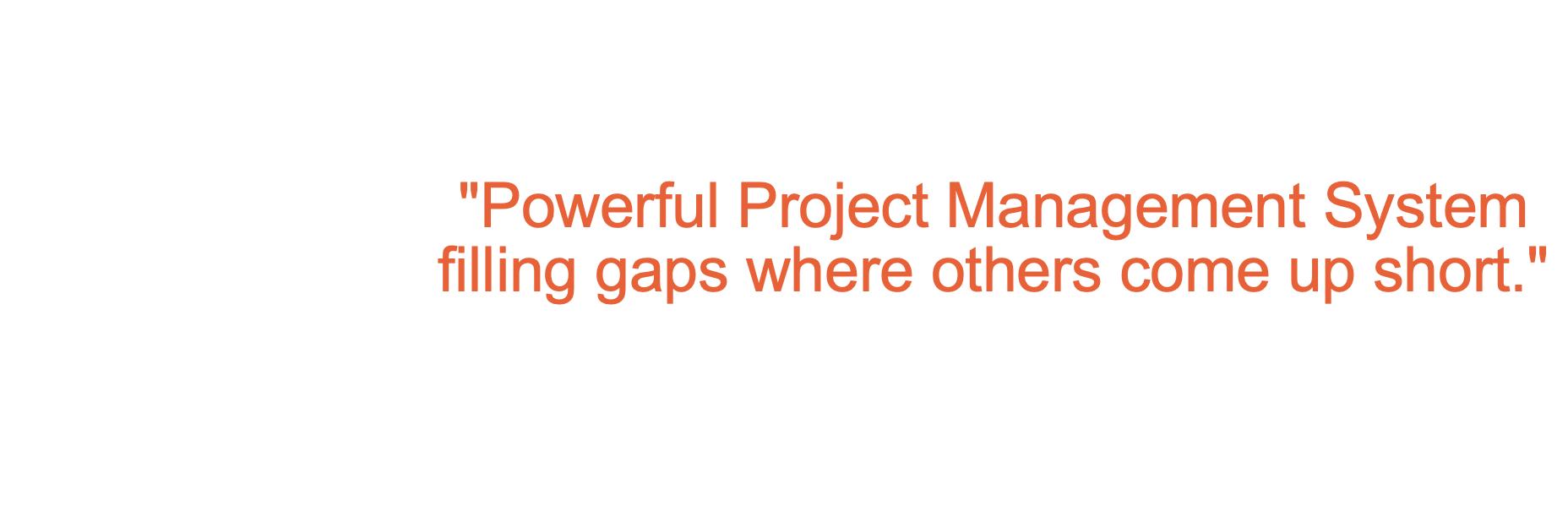 ROI Blueprints, data-driven Project Management software