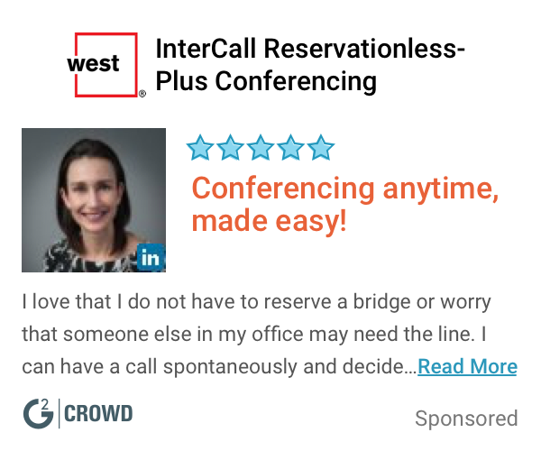 Intercall res plus review  2x