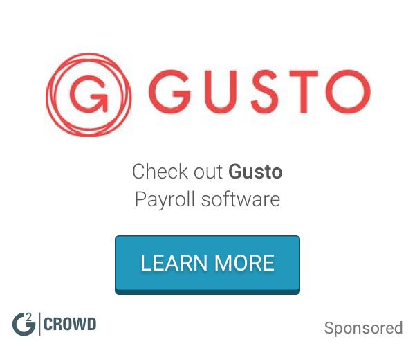 Gusto payroll  2x