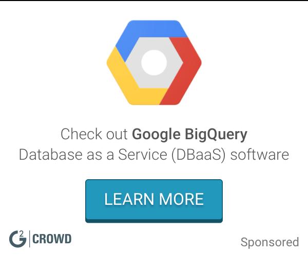 Google bigquery 2x