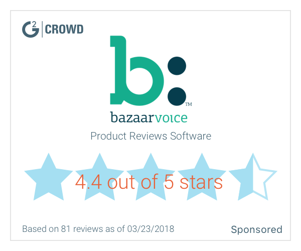Bazaarvoice starrating  2x