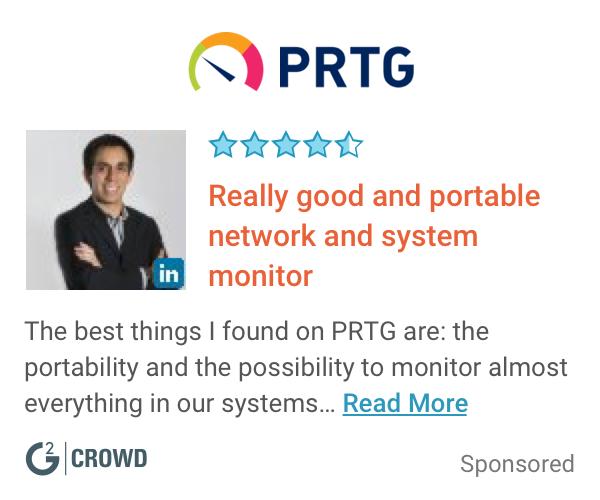 Prtg review  2x