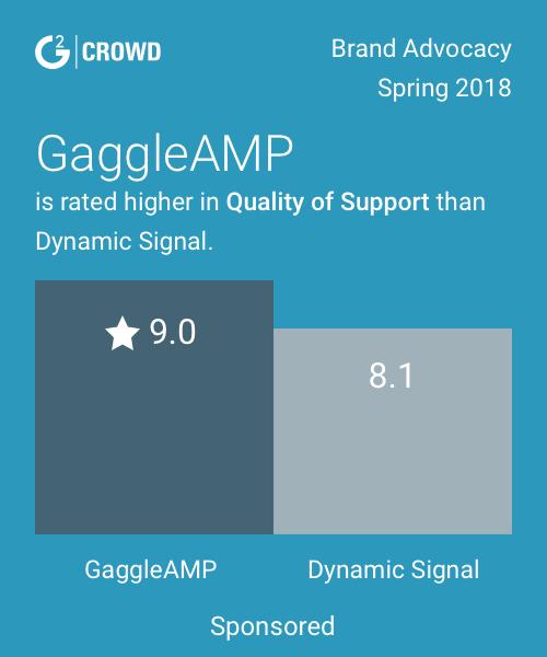 Gaggleamp vs dynamicsignal 2x