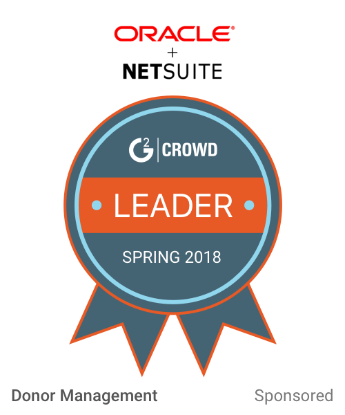 Netsuitefornonprofits leader  donormang  2x