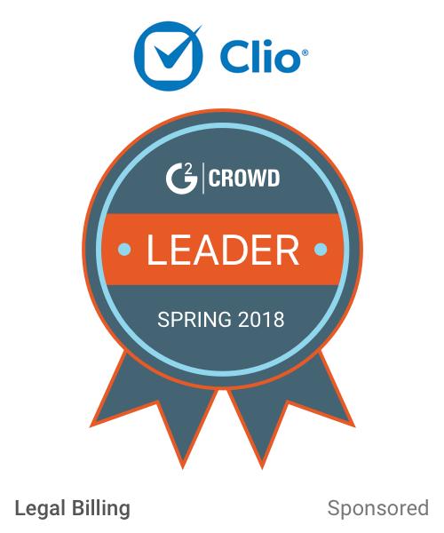 Clio leagalbilling  leader  2x