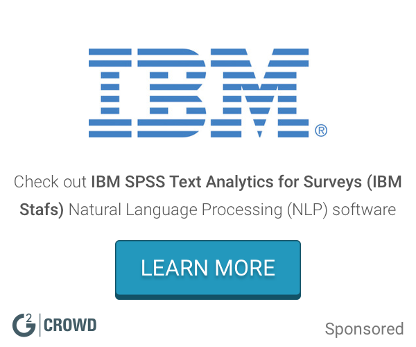 Ibm spss text analytics for surveys  ibm stafs  nlp  2x